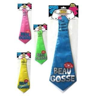 Cravate dédicace Beau Gosse