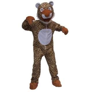 Déguisement peluche de léopard