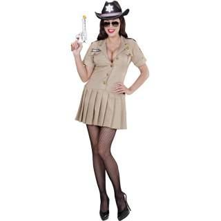Déguisement sheriff girl