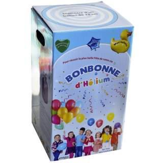Bonbonne hélium 30 ballons