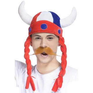 Casque viking supporter France