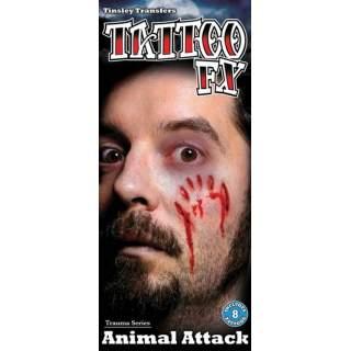 Tatouages attaques d'animaux