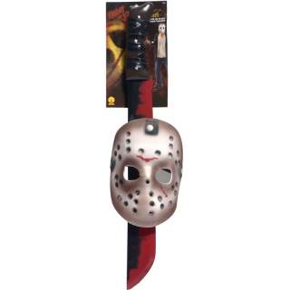 Kit Jason masque hockey et machette