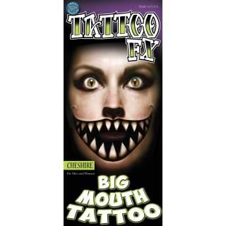 2 tatouages sourire géant