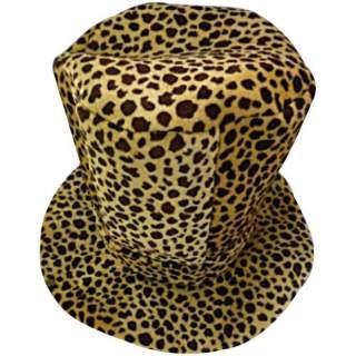 Haut de forme léopard