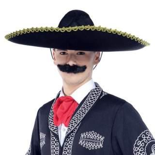 Sombrero mexicain noir