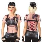 T-shirt photo réaliste Lady Rider