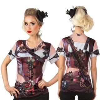 T-shirt photo réaliste steampunk