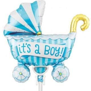 Ballon poussette It's a boy !