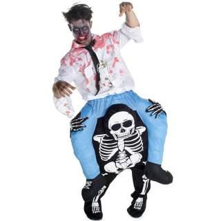 Déguisement porte-moi squelette