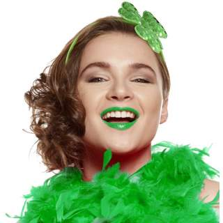 Serre-tête avec trèfle vert