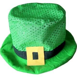 Chapeau Saint Patrick vert en feutrine