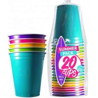 20 gobelets Summer Original Cup
