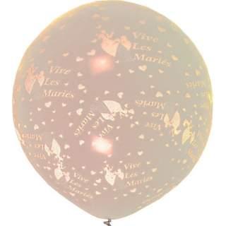 """Ballon géant """"Vive les mariés"""""""