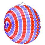 Lampion ballon tricolore 22cm
