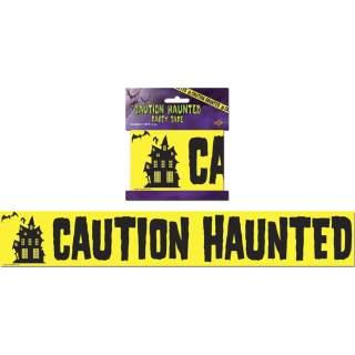"""Bande de sécurité """"Caution Haunted"""""""