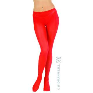 Collants rouges taille standard