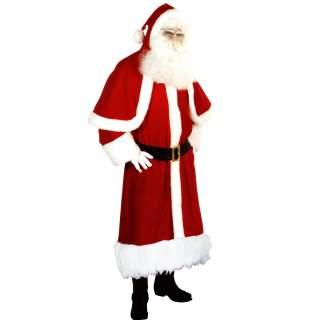 Déguisement de Père Noël EU super luxe