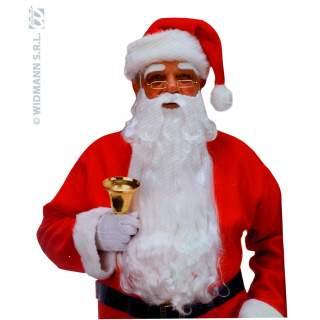 Barbe Père Noël nylon luxe