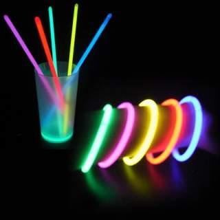 Tube de 100 bracelets fluo