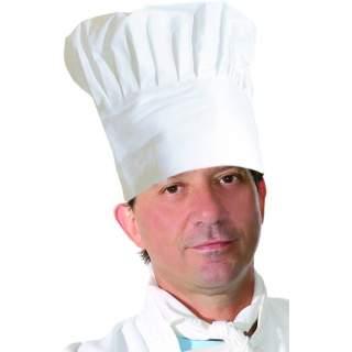 Toque de cuisinier blanche