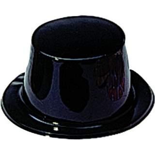 Haut de forme plastique noir