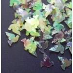 Confettis colombes irisées