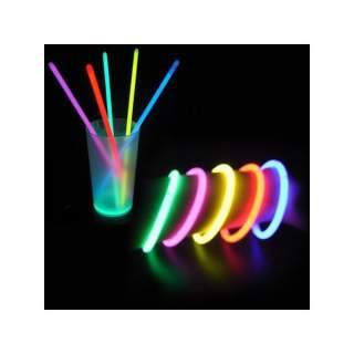 Tube de 15 bracelets fluo
