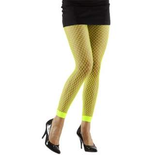 Leggings résilles fluo