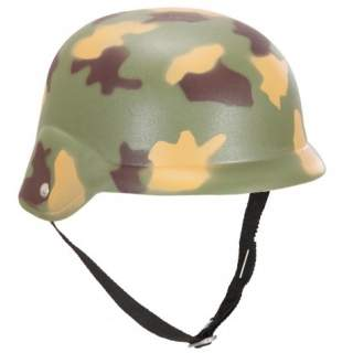 Casque militaire camouflage