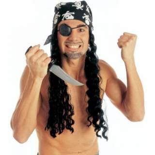 Perruque pirate longue