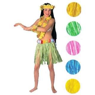 Jupe Hawaïenne avec ceinture de fleurs