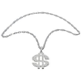 Collier dollar avec chaîne