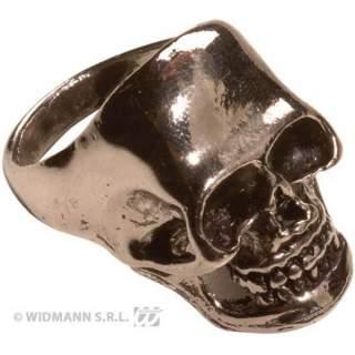 Anneau tête de mort métal
