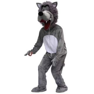 Déguisement peluche de loup
