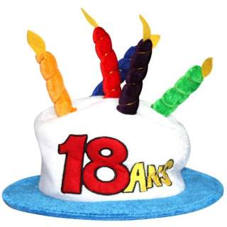 Chapeau anniversaire 18 ans