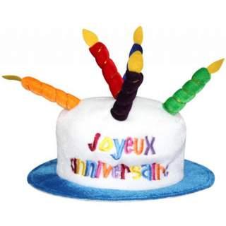 Chapeau joyeux anniversaire