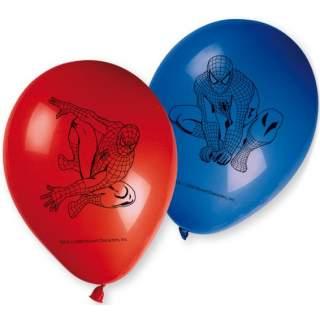 Lot de 6 ballons Spiderman
