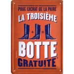 Plaque publicitaire Auguste Derrière