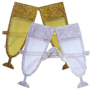 Lunettes coupes de champagne