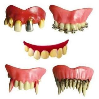 Dentier d'horreur