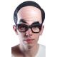 Demi-masque front avec lunettes