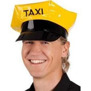 Casquette chauffeur de taxi jaune