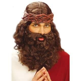 Perruque de prophète avec barbe