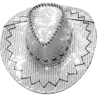 Chapeau cow-boy paillettes brillantes